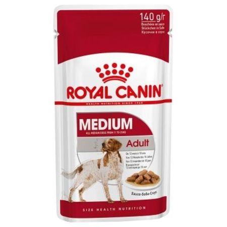 Hrana umeda pentru caini cu pui, Royal Medium Adult, 140 g 0