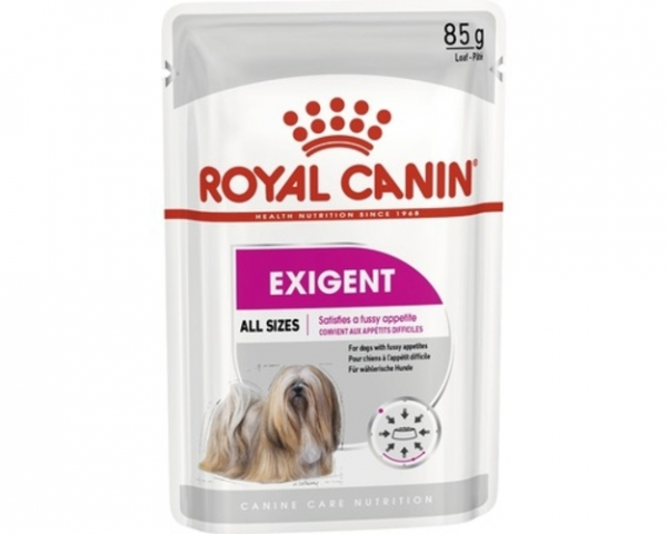 Hrana umeda pentru caini Royal Canin, Exigent, 12 plicuri x 85 g [0]