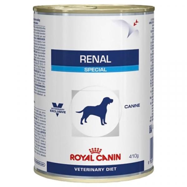 Hrana umeda pentru caini, Royal Vet Canin Renal Conserva, 410 g [0]