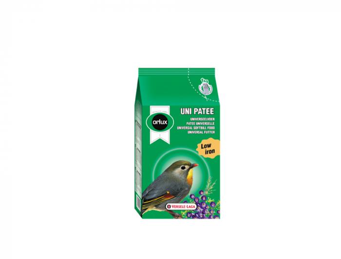 Hrana umeda pentru pasari exotice, Orlux Uni Patee, Versele-Laga, 25 kg [0]
