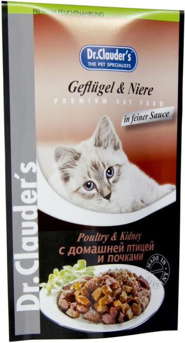 Hrana umeda pentru pisici cu pasare si rinichi, Dr. Clauder's Cat, 100 g [0]