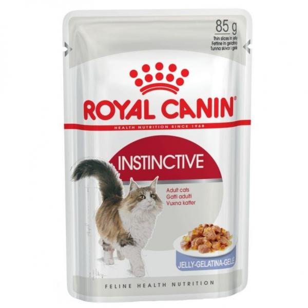 Hrana umeda pentru pisici Royal Canin, Instinctive, in aspic, plic 85g 1