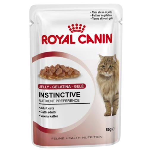 Hrana umeda pentru pisici Royal Canin, Instinctive, in aspic, plic 85g 0