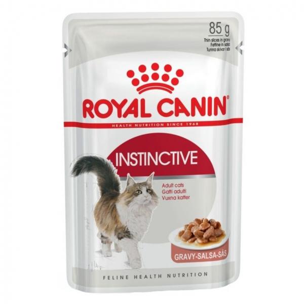 Hrana umeda pentru pisici Royal Canin, Instinctive, in sos, plic 85g 0