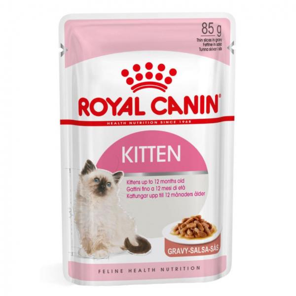 Hrana umeda pentru pisici Royal Canin, Kitten Instinctive, 85g [0]