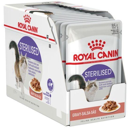 Hrana umeda pentru pisici Royal Canin, Sterilised, in sos, 12x85g [0]