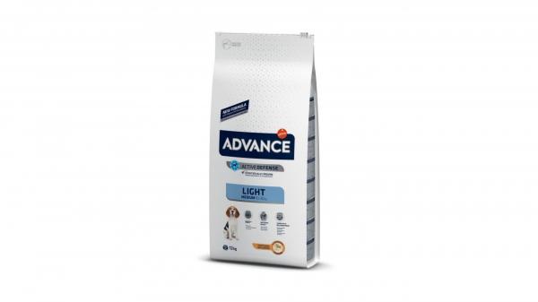 Hrana uscata pentru caini, Advance Medium Light, 12kg [0]