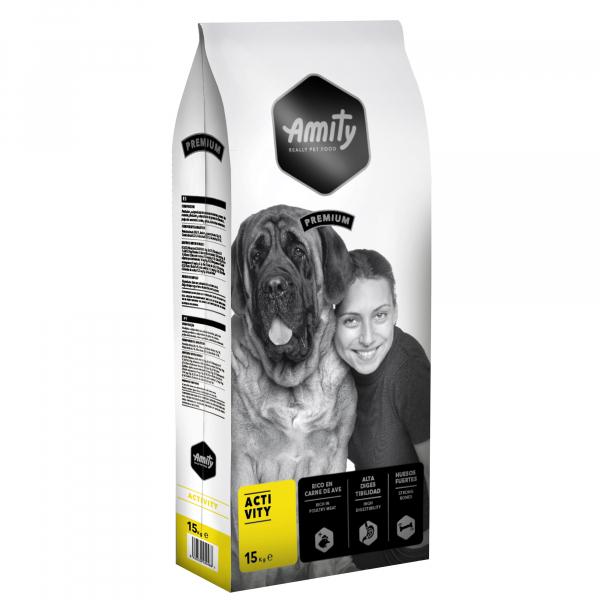 Hrana uscata pentru caini Amity Premium Activity, 15 kg 0