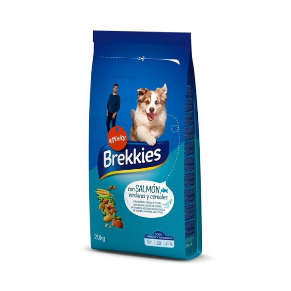 Hrana uscata pentru caini, Brekkies Dog Excel Mix Peste, 20kg 0