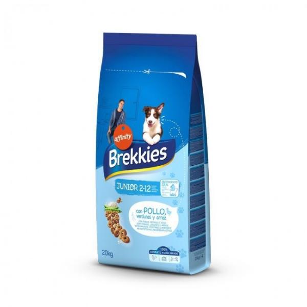 Hrana uscata pentru caini Brekkies Junior, 20 kg [0]