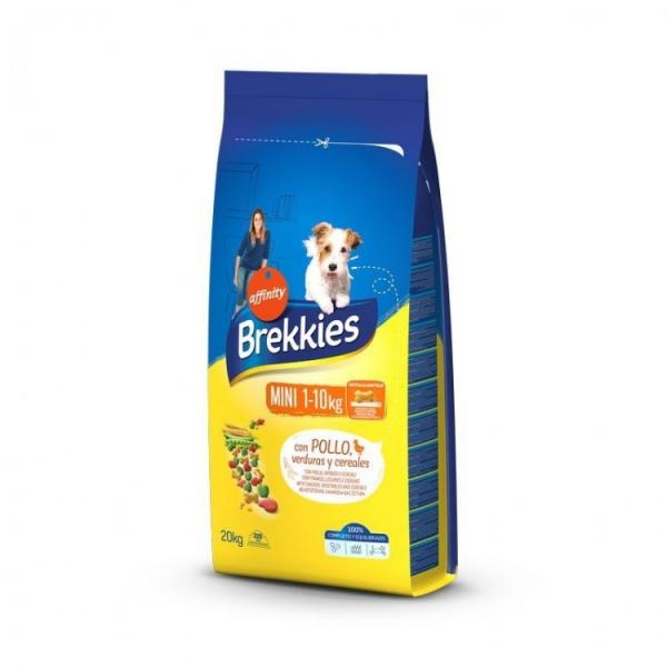 Hrana uscata pentru caini Brekkies Mini, 20 kg [0]