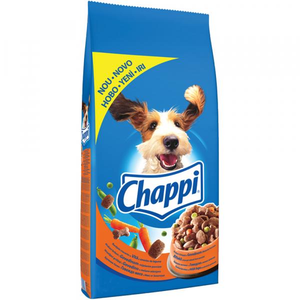 Hrana uscata pentru caini Chappi, Vita & Legume, 10Kg [0]
