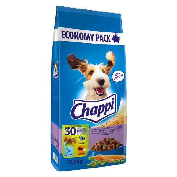 Hrana uscata pentru caini Chappi, Vita & Legume, 13.5Kg 0