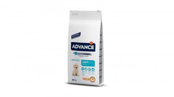 Hrana uscata pentru caini cu Curcan si Orez, Advance Dog Maxi Puppy Protect, 12 Kg [0]