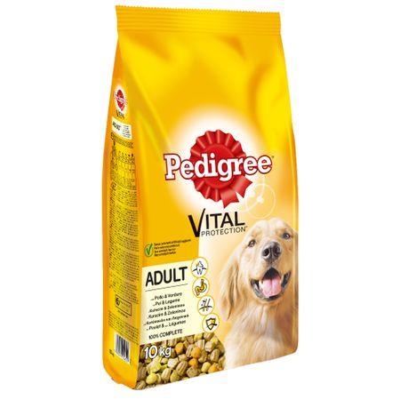 Hrana uscata pentru caini cu pui si legume, Pedigree Dog Adult, 15 Kg 0