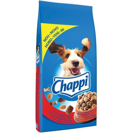 Hrana uscata pentru caini cu vita si pasare, Chappi Complete, 500 G 0