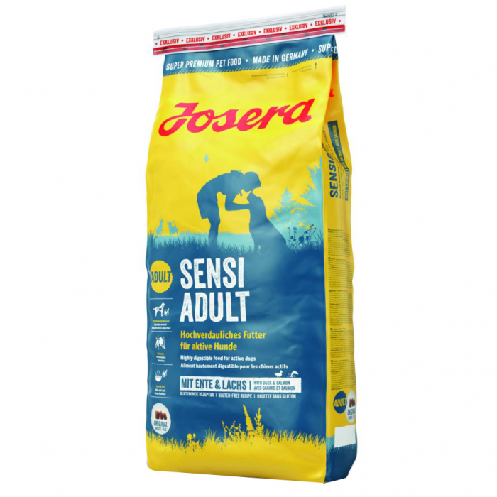 Hrana uscata pentru caini Josera, Sensi Adult, 15 Kg 0