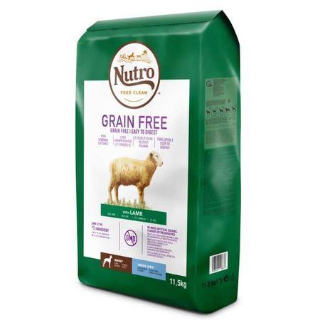 Hrana uscata pentru caini, Nutro Grain Free Adult Talie Medie Miel, 11.5 Kg 0