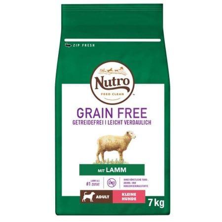 Hrana uscata pentru caini, Nutro Grain Free Adult Talie Mica Miel, 7 Kg [0]