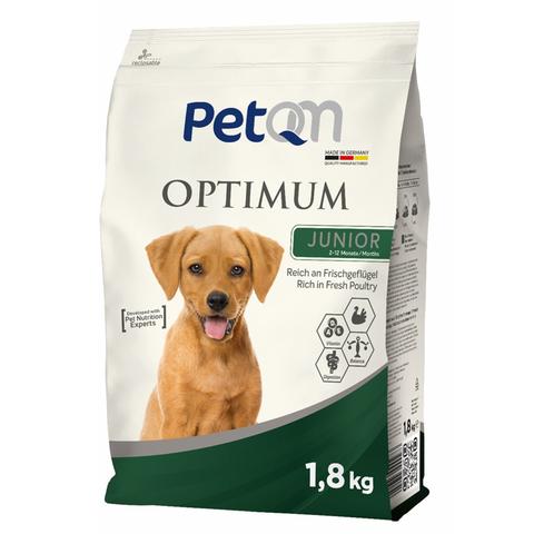Hrana uscata pentru caini, Optimum Junior, PetQM, 1.8 kg 0