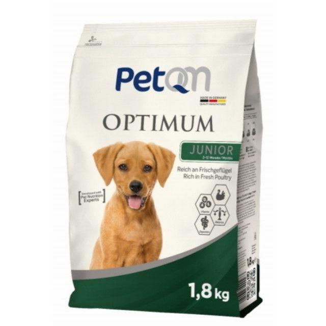 Hrana uscata pentru caini, Optimum Junior, PetQM, 15 kg [0]