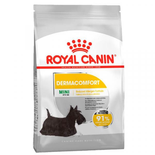 Hrana uscata pentru caini Royal Canin, CCN Mini Dermacomfort, 3 kg 0