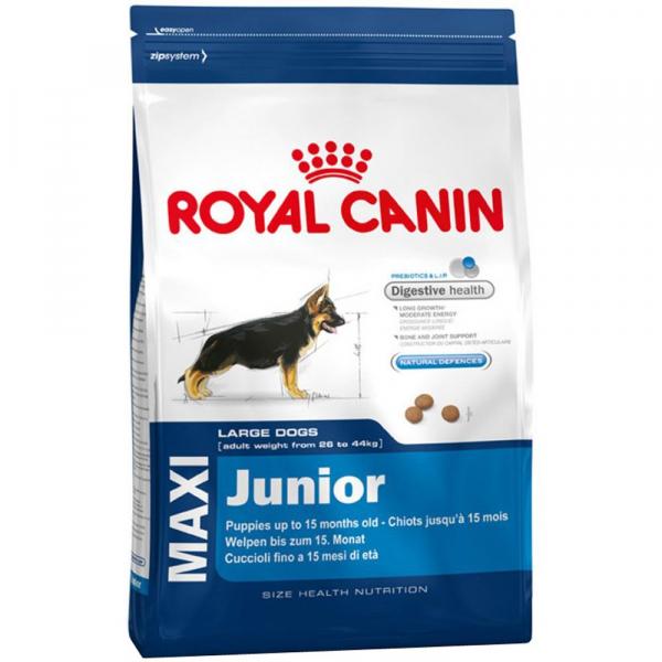 Hrana uscata pentru caini Royal Canin, Maxi, Junior, 15kg 0