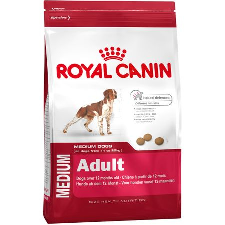 Hrana uscata pentru caini Royal Canin, Medium, Adult, 15Kg [0]