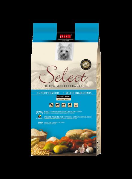 Hrana uscata pentru caini Select Puppy Mini, Pui si Orez, 3 kg 0