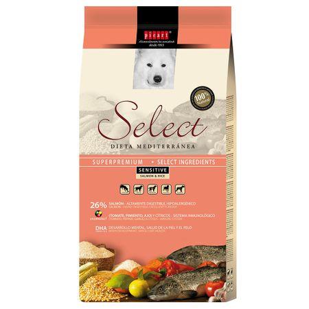 Hrana uscata pentru caini Select Sensitive, Somon si Orez, 3 kg 0