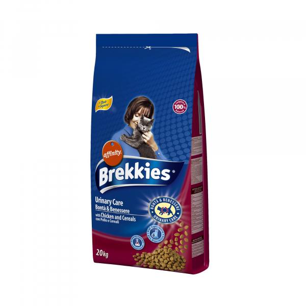 Hrana uscata pentru pisici Brekkies Excel Urinary Care, 20 Kg [0]