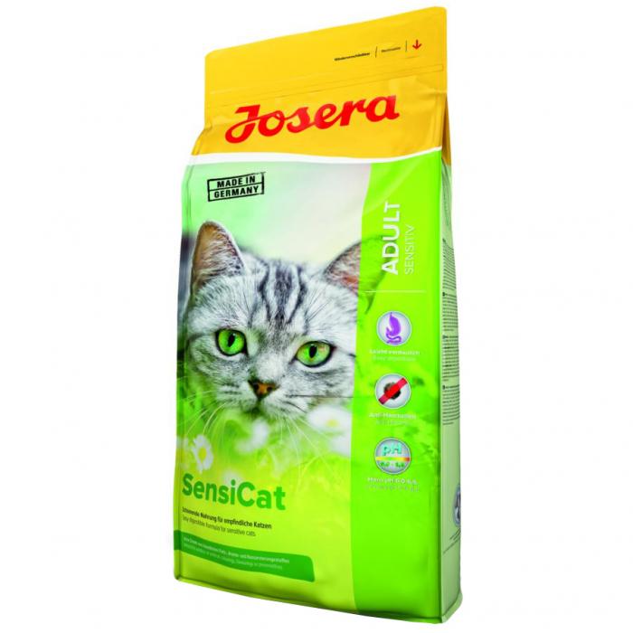 Hrana uscata pentru pisici Josera, SensiCat, 10 Kg [0]