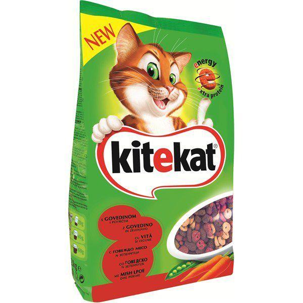 Hrana uscata pentru pisici Kitekat, Vita & Legume, 1.8Kg [0]