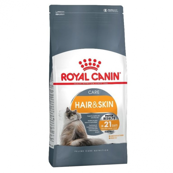 Hrana uscata pentru pisici Royal Canin, Hair & Skin 33, 10 kg [0]
