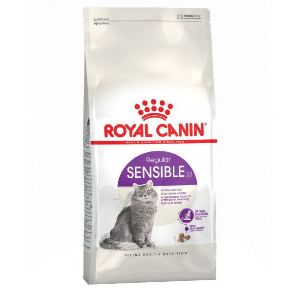 Hrana uscata pentru pisici Royal Canin, Sensible, 15Kg [0]