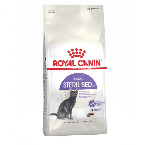 Hrana uscata pentru pisici Royal Canin, Sterilised 37, 4kg 0