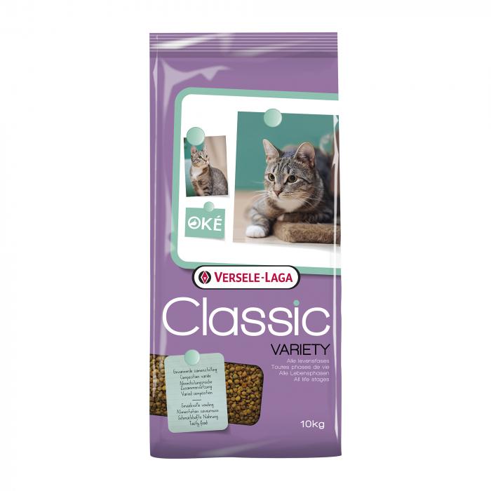 Hrana uscata pentru pisici Versele Laga Classic, Variety, 10 kg 0