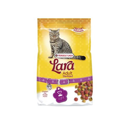 Hrana uscata pentru pisici, Versele Laga Lara, Adult Steril, Pui, 10Kg 0