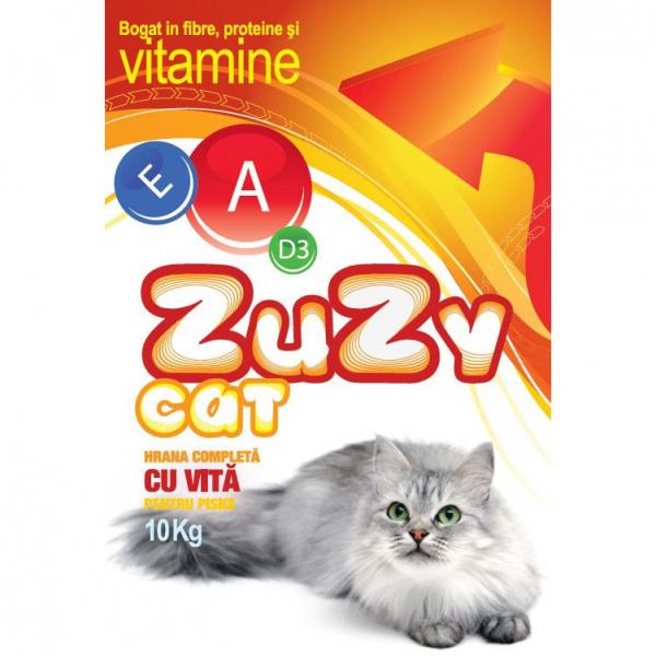 Hrana uscata pentru pisici Zuzy Cat Vita, 10kg [0]