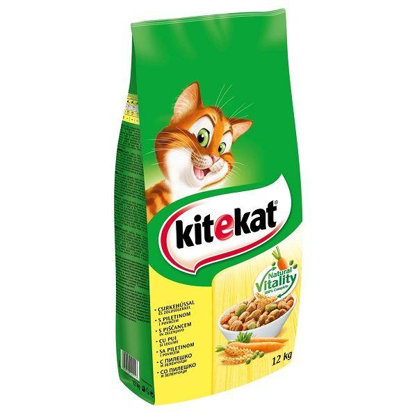 Hrana uscata pisici KiteKat adult pui 12 kg 0