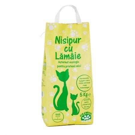 Nisip pentru pisici cu miros de lamaie, Nisipur, 5 kg [0]
