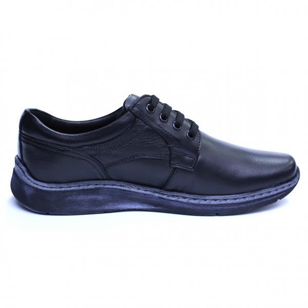 Pantofi barbati din piele naturala, Demy, Gitanos, Negru, 39 EU [3]