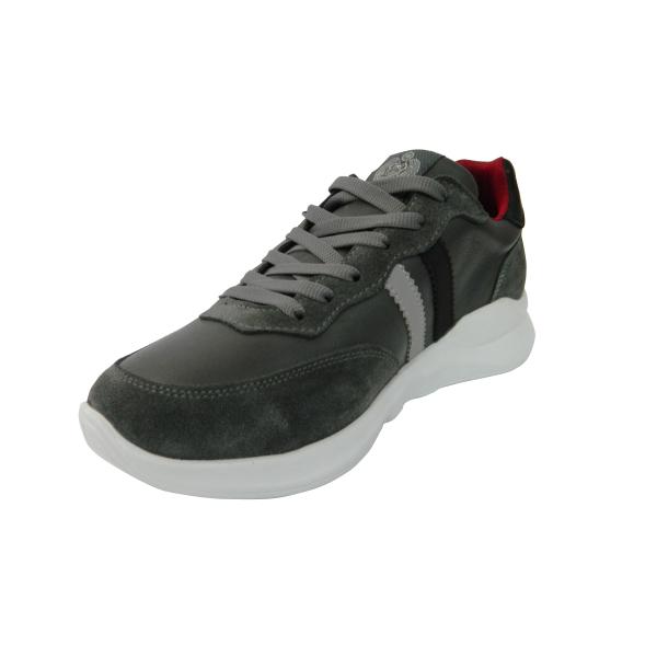 Pantofi sport pentru barbati din piele naturala, Rafael, Gitanos, Gri, 40 EU 2