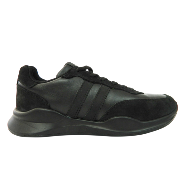 Pantofi sport pentru barbati din piele naturala, Rafael, Gitanos, Negru, 40 EU [0]