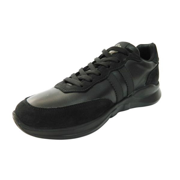 Pantofi sport pentru barbati din piele naturala, Rafael, Gitanos, Negru, 40 EU [1]