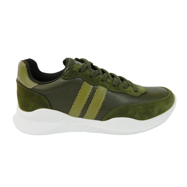 Pantofi sport pentru barbati din piele naturala, Rafael, Gitanos, Verde, 40 EU [0]