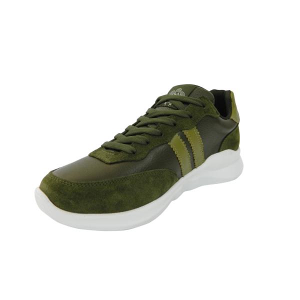Pantofi sport pentru barbati din piele naturala, Rafael, Gitanos, Verde, 40 EU [2]