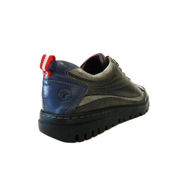 Pantofi sport pentru barbati din piele naturala, Air, Gitanos, Gri, 39 EU 2