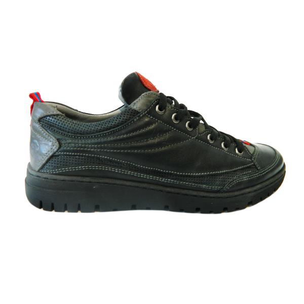 Pantofi sport pentru barbati din piele naturala, Air, Gitanos, Negru, 39 EU 0