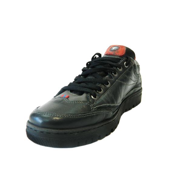 Pantofi sport pentru barbati din piele naturala, Air, Gitanos, Negru, 39 EU 2